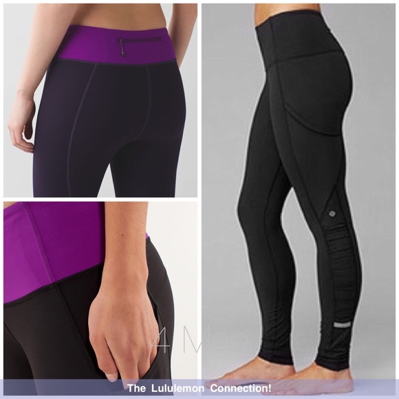 6249bbe76fe60 lululemon athletica Pants | Lululemon Leggings W Pockets | Poshmark